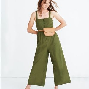 Madewell Button-Down Jumpsuit
